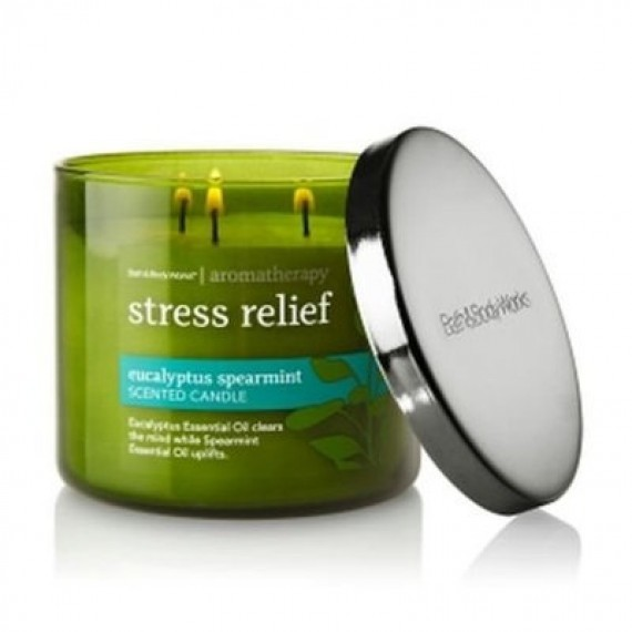 Bath and Body Works Aromatherapy Stress Relief Eucalyptus Spearmint Scented