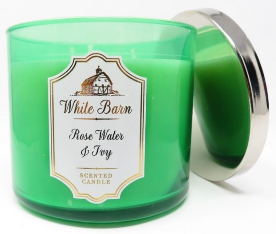 Bath and Body Works White Barn Rosewater and Ivy
