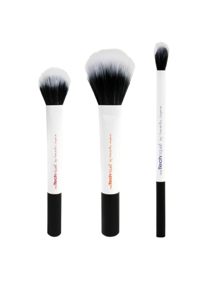 REAL TECHNIQUES Duo Fiber Collection - Limited Edition - White