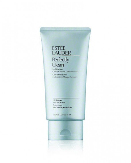 Estee Lauder Perfectly Clean Multi-Action Creme Cleanser-Moisture Mask