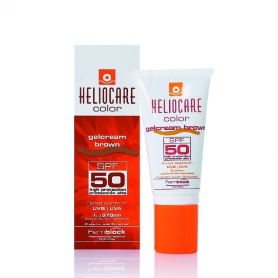 Heliocare Color SPF 50 Gelcream Brown - 50 ML