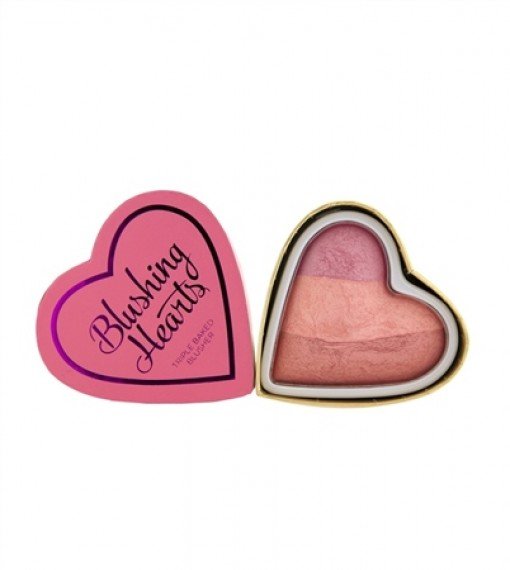 Makeup Revolution Blushing Hearts - Candy Queen of Hearts Blusher