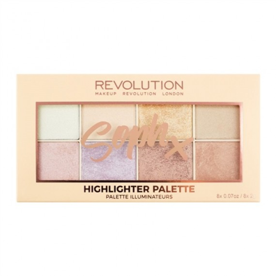 Makeup Revolution Soph Highlighter Palette