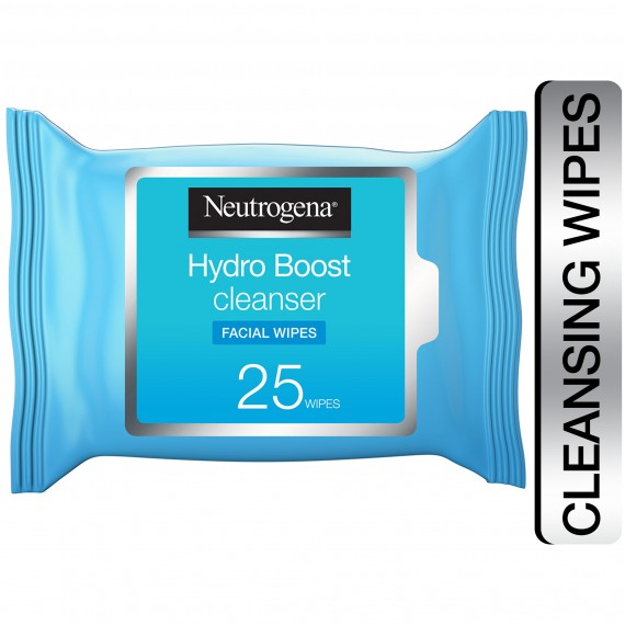 Neutrogena Hydro Boost Cleansing Facial Wipes 25S