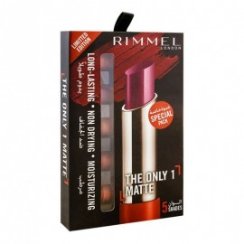Rimmel The Only 1 Matte Lipstick 5 Shades Pack Limited Edition Special Pack