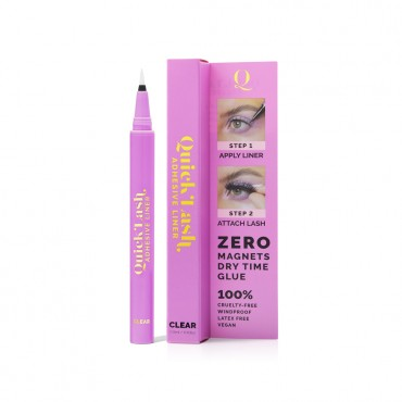 The Quick Flick 2 in 1 Eyeliner & Lash Adhesive -Clear