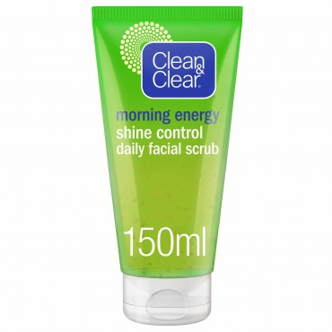 Clean And Clear Morning Energising Scrub Shine 150ML