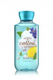 Bath and Body Works Signature Sheer Cotton and Lemonade Shower Gel