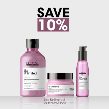 Liss Unlimited Bundle For Smooth & Frizz-free Hair