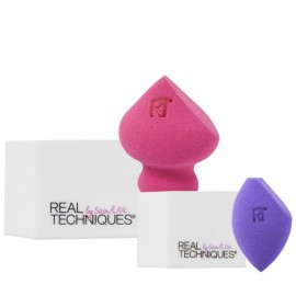 Real Techniques 2 Miracle Sponges Plus 2 Stands