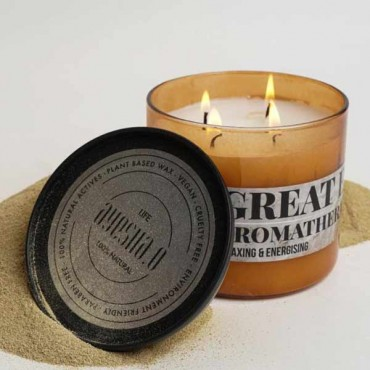 Ayesha O Beauty Great Escape Aroma Therapy Candle
