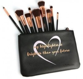 Beauty Creations 10PC Brush Set Like A Diamond