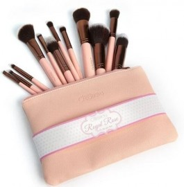 Beauty Creations 12PC Brush Set Royal Rose