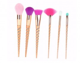 Beauty Creations 6 PC brush Set Copperella