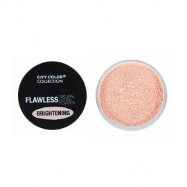 City Color Flawless Natural Loose Powder Brightening-Light Pink