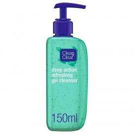 Clean And Clear Deap Action Refreshing Gel Cleansser 150ml