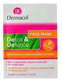 Dermacol Detoxifying and Defence Face Mask