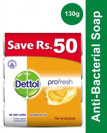 Dettol Soap 130 gm Reenergize Buy 4 soaps save Rs 50