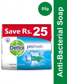 Dettol Soap 85 gm Cool Buy 3 soaps save Rs 25