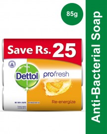 Dettol Soap 85 gm Reenergize Buy 3 soaps save Rs 25