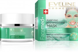 Eveline Facemed+ Purifying Green Clay Mask 50ml