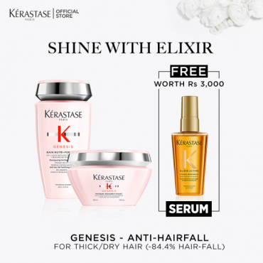 Genesis Thick Hair x Shine with Elixir