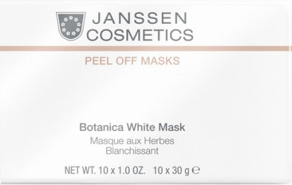 Janssen Botanica White Mask 30 grams Sachet