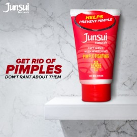 Junsui Naturals Pimple Fighting Face Wash With Whitening 50g