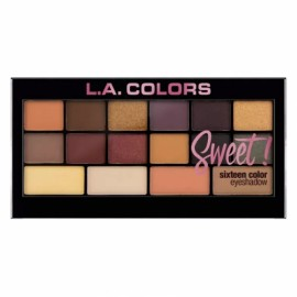 L.A. Colors Sweet! 16 Color Eyeshadow Palette