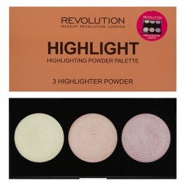 Makeup Revolution Highlighter Palette Highlights
