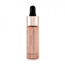Makeup Revolution Liquid Highlighter Liquid Bronze Gold
