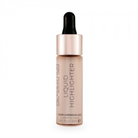 Makeup Revolution Liquid Highlighter Liquid Luminous Gold