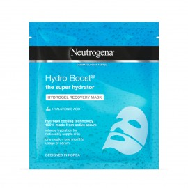 Neutrogena Face Mask Sheet The Super Hydrator  Hydro Boost Hydrogel Recovery  30ml