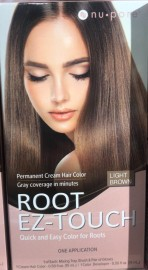 Nu-Pore Root EZ Touch Light Brown