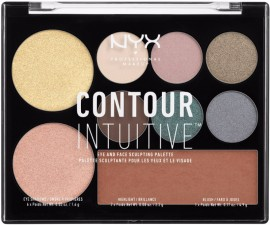 NYX Cosmetics Contour Intuitive Palette Smoke and Pearl