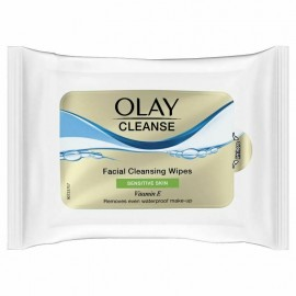 Olay Facial Cleansing Wipes Sensitive Skin Pack of 20