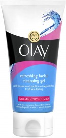 Olay Refreshing Cleansing Gel Face Wash - 150Ml