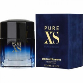 Paco Rabanne Xs Pure Excess Blue Men Edt 100Ml (New)