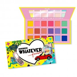 Rude Whatever Forever Eyeshadow Palette - Bright & Bold - 18 Shades