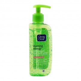 Clean & Clear Morning Energy Shine Control Daily Facial Wash, Oil Free, 150ml