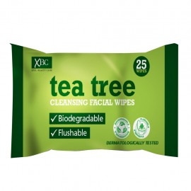 Xpel Tea Tree Facial Cleansing Wipes 25`S